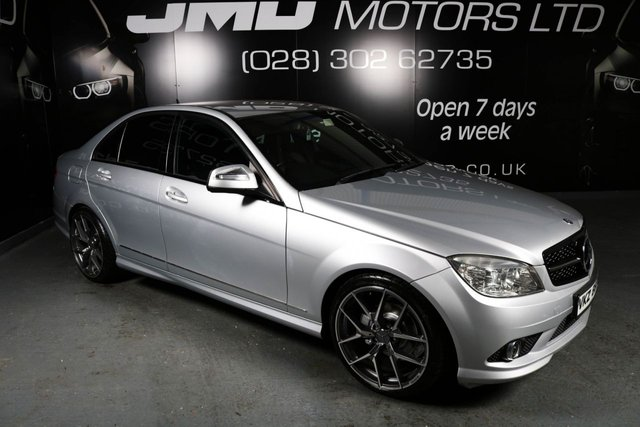 2008 MERCEDES-BENZ C CLASS C200 CDI SPORT AUTO NIGHT EDITION STYLE (FINANCE AND WARRANTY)