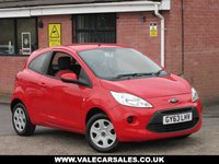 USED 2013 63 FORD KA 1.2 EDGE (FULL SERVICE HISTORY) 3dr FULL SERVICE HISTORY + CAM BELT CHANGE