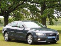2010 AUDI A5 2.0 SPORTBACK TFSI SE 5d AUTO 178 BHP £8699.00