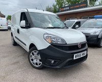 USED 2016 66 FIAT DOBLO 1.6 16V SX MAXI MULTIJET II 1d 105 BHP RARE 1.6 LWB WITH 6 SPEED GEARBOX