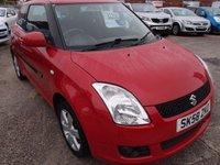 2008 SUZUKI SWIFT 1.5 GLX 3d 90 BHP £2295.00