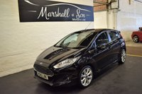 USED 2015 15 FORD FIESTA 1.5 TITANIUM TDCI 5d 74 BHP BIG SPEC - FREE TAX - 5 STAMPS TO 46K - FACTORY BODYKIT - HEATED SEATS - PRIVACY GLASS - 17 INCH ALLOYS