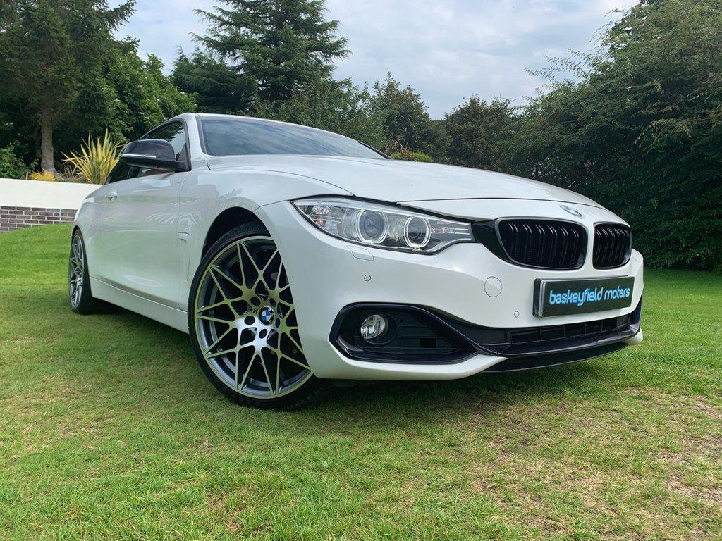 USED 2014 64 BMW 4 SERIES 2.0 420D SPORT 2d AUTO 181 BHP