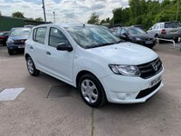 USED 2014 14 DACIA SANDERO 0.9 AMBIANCE TCE 5d 90 BHP ONE OWNER FROM NEW / SERVICE HISTORY