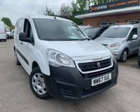USED 2018 67 PEUGEOT PARTNER 1.6 BLUE HDI PROFESSIONAL L1 1d 100 BHP IMMACULATE EURO 6