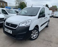 USED 2016 66 PEUGEOT PARTNER 1.6 BLUE HDI PROFESSIONAL L1 1d 100 BHP IMMACULATE ERUO 6 VAN