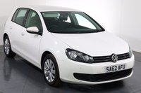 USED 2012 62 VOLKSWAGEN GOLF 2.0 MATCH TDI BLUEMOTION TECHNOLOGY 5d 138 BHP 2 OWNERS with 6 Stamp SERVICE HISTORY