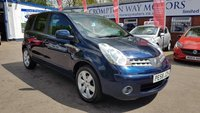 USED 2008 58 NISSAN NOTE 1.6 TEKNA 5d AUTO 109 BHP