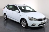 USED 2011 61 KIA CEED 1.6 CRDI 2 SW ESTATE 5d 114 BHP ONE LADY OWNER with 5 Stamp SERVICE HISTORY