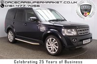 USED 2014 14 LAND ROVER DISCOVERY 3.0 SDV6 HSE 5DR AUTO 7 SEATS SIDE STEPS BLACK LEATHER 3 X SUN ROOFS TINTED WINDOWS LAND ROVER SERVICE HISTORY + 7 SEATS + HEATED LEATHER SEATS + SATELLITE NAVIGATION + REVERSE CAMERA + BLUETOOTH + CRUISE CONTROL + TRIPLE SUNROOF + CLIMATE CONTROL + MULTI FUNCTION WHEEL + ELECTRIC/MEMORY SEATS + XENON HEADLIGHTS + PROVACY GLASS + ELECTRIC WINDOWS + ELECTRIC MIRRORS + 20 INCH ALLOY WHEELS