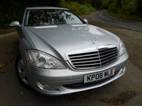 USED 2008 08 MERCEDES-BENZ S CLASS 3.0 S320 CDI 4d AUTO 231 BHP ** DIESEL, 7 SPEED AUTOMATIC, FULLY LOADED , YES ONLY 67K WITH 10 SERVICE STAMPS, UNBELIEVABLE VEHICLE, YES ONLY £8495 **
