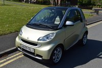 2009 SMART FORTWO 1.0 PASSION MHD 2d AUTO 71 BHP £2999.00