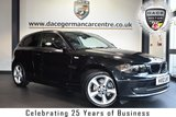 """USED 2010 10 BMW 1 SERIES 2.0 116D SPORT 3DR 114 BHP full service history FINISHED IN STUNNING SAPPHIRE METALLIC BLACK WITH ANTHRACITE UPHOLSTERY + FULL SERVICE HISTORY + SPORT SEATS + RAIN SENSORS + FOG LIGHTS + AIR CONDITIONING + PARKING SENSORS + 17"""" ALLOY WHEELS"""