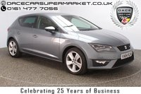 USED 2015 15 SEAT LEON 2.0 TDI FR TECHNOLOGY 5DR 150 BHP £20 12 MONTHS ROAD TAX + BLUETOOTH + MULTI FUNCTION WHEEL + CLIMATE CONTROL + DAB RADIO + PRIVACY GLASS + ELECTRIC WINDOWS + RADIO/CD/AUX/USB + ELECTRIC MIRRORS + ALLOY WHEELS
