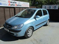 USED 2008 58 HYUNDAI GETZ 1.4 CDX 5d 96 BHP FINANCE AVAILABLE FROM £27 PER WEEK OVER TWO YEARS - SEE FINANCE LINK FOR DETAILS