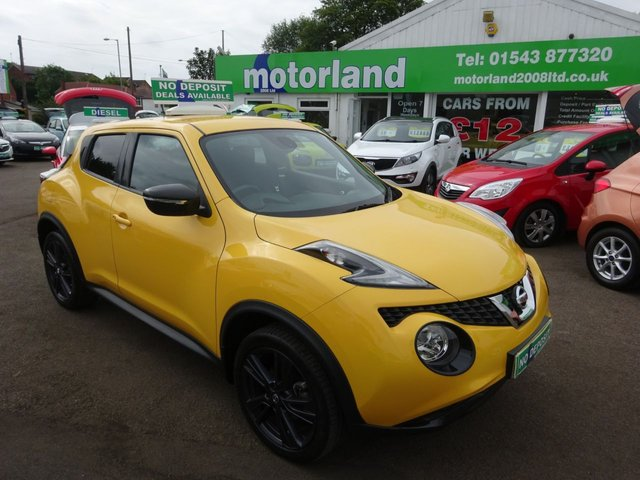USED 2016 16 NISSAN JUKE 1.2 N-CONNECTA DIG-T 5d 115 BHP 1 OWNER FROM NEW... LOW MILEAGE... JUST ARRIVED...
