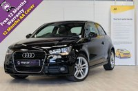 USED 2012 62 AUDI A1 1.6 TDI S LINE 3d 105 BHP FREE PRIVACY GLASS UPGRADE, FREE TAX,
