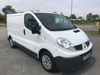 USED 2015 15 RENAULT TRAFIC SL27 2.0 DCi 115 Business SWB