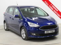 USED 2016 66 FORD GRAND C-MAX 1.5 ZETEC TDCI 5d 118 BHP Stunning Ford Grand C Max Zetec having just had 1 previous owner and comes with Full Ford Service History. First Registered in October 2016 (66 plate) and comes in beautiful metallic Deep Impact Blue. In addition this car comes with an array of equipment including Parking Sensors, Ford Sync, Heated Front & Rear Windscreens, Air Conditioning, Bluetooth, Leather Multi-Functional Steering Wheel, DAB Radio, CD, USB/AUX, Alloy Wheels, 2 Keys and the balance of Ford Warranty to 25th October 2019.