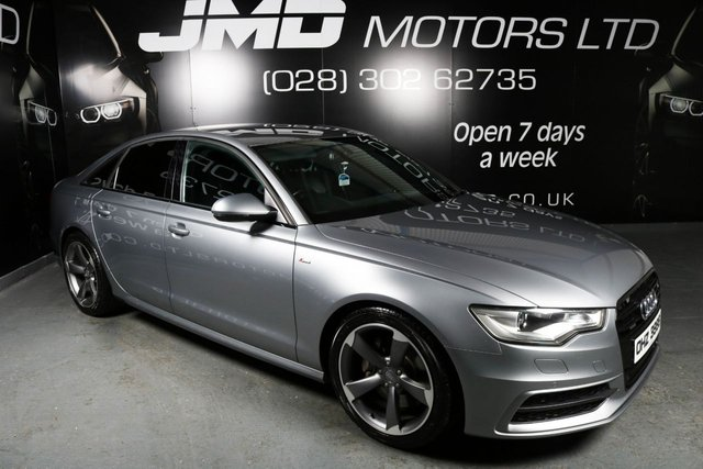 2012 AUDI A6 3.0 TDI QUATTRO S LINE BLACK EDITION STYLE AUTO 245 BHP (FINANCE AND WARRANTY)