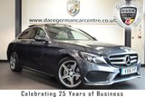 "USED 2016 16 MERCEDES-BENZ C CLASS 2.1 C220 D AMG LINE PREMIUM 4DR AUTO 170 BHP full mercedes service history *NO ADMIN FEES* FINISHED IN STUNNING TENORITE METALLIC GREY WITH FULL LEATHER INTERIOR + FULL MERCEDES SERVICE HISTORY + SATELLITE NAVIGATION + PANORAMIC ROOF + BLUETOOTH + REAR-VIEW CAMERA + PANORAMIC SLIDING SUNROOF + HEATED ELECTRIC SEATS WITH MEMORY + AMG STYLING PACKAGE-FRONT SPOILER, SIDE SKIRT + DAB RADIO + CRUISE CONTROL + ELECTRIC FOLDING MIRRORS + DIRECT START / ECO START/STOP FUNCTION + ACTIVE PARK ASSIST + 18"" ALLOY WHEELS"