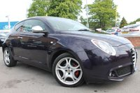 USED 2013 63 ALFA ROMEO MITO 1.4 TB MULTIAIR DISTINCTIVE 3d 135 BHP BLUETOOTH HANDS FREE - ALLOY WHEELS - VERY SOUGHT AFTER VEHICLE WITH GREAT MILEAGE