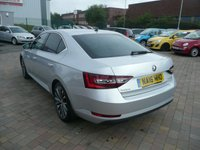 USED 2016 16 SKODA SUPERB 2.0 LAURIN AND KLEMENT TDI DSG 5d AUTO 188 BHP