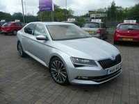 2016 SKODA SUPERB 2.0 LAURIN AND KLEMENT TDI DSG 5d AUTO 188 BHP £13499.00