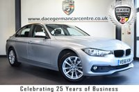"""USED 2017 66 BMW 3 SERIES 2.0 320D SE 4DR 188 BHP full service history FINISHED IN STUNNING GLACIER METALLIC SILVER WITH ANTHRACITE UPHOLSTERY + FULL SERVICE HISTORY + SATELLITE NAVIGATION + BLUETOOTH + DAB RADIO + CRUISE CONTROL + RAIN SENSORS + AUTO AIR CON + PARKING SENSORS + 17"""" ALLOY WHEELS"""