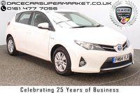 USED 2015 15 TOYOTA AURIS 1.8 ICON VVT-I 5DR AUTO 99 BHP 1 OWNER SERVICE HISTORY + FREE 12 MONTHS ROAD TAX + REVERSE CAMERA + PARKING SENSOR + CLIMATE CONTROL + DAB RADIO + MULTI FUNCTION WHEEL + ELECTRIC WINDOWS + ELECTRIC MIRRORS + ALLOY WHEELS