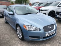 USED 2010 10 JAGUAR XF 3.0 V6 PREMIUM LUXURY 4d AUTO 240 BHP