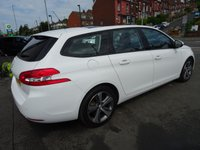 USED 2016 16 PEUGEOT 308 1.6 BLUE HDI S/S SW ACTIVE 5d 100 BHP