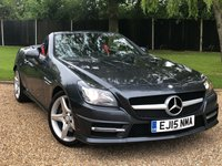 USED 2015 15 MERCEDES-BENZ SLK 2.1 SLK250 CDI BLUEEFFICIENCY AMG SPORT 2d AUTO 204 BHP 1 OWNER , PANORAMIC GLASS ROOF,LEATHER SEATS