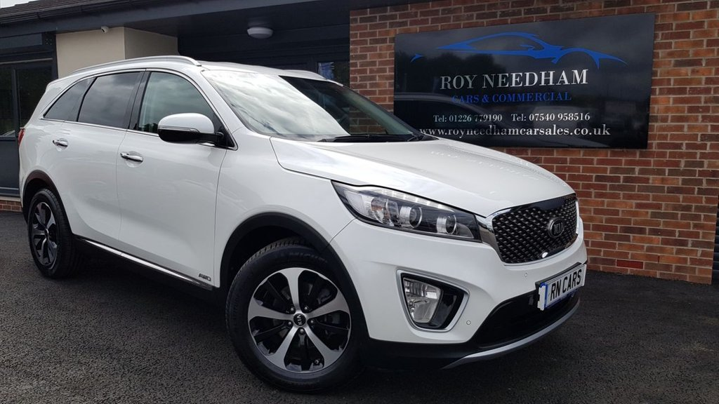 USED 2016 66 KIA SORENTO 2.2 CRDI KX-2 ISG 5DR AUTO 197 BHP *** SAT NAV - HEATED LEATHER - REV CAM ***