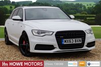 USED 2013 63 AUDI A6 3.0 AVANT BiTDI QUATTRO BLACK EDITION 5d AUTO 313 BHP NAVIGATION PANROOF HEAD-UP TECH PACK REAR VIEW CAMERA BLACK STYLING PACK