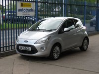 USED 2015 15 FORD KA 1.2 ZETEC 3d 69 BHP Just £30 Road Tax