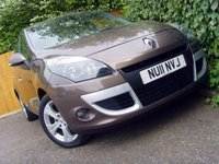 2011 RENAULT SCENIC 1.5 DYNAMIQUE TOMTOM DCI 5d 110 BHP £3999.00
