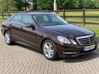 2010 MERCEDES-BENZ E CLASS 2.1 E250 CDI BLUEEFFICIENCY AVANTGARDE 4d AUTO 204 BHP £6995.00