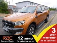 USED 2017 67 FORD RANGER 3.2 Wildtrak Double Cab Auto 200ps