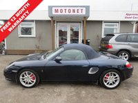 USED 2002 PORSCHE BOXSTER 3.2 24V S 2DR CONVERTIBLE 260 BHP +++JULY SALE NOW ON+++
