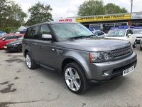 USED 2011 60 LAND ROVER RANGE ROVER SPORT 3.0 TDV6 HSE 5 DOOR AUTO 245 BHP IN GREY 2 OWNERS FULL LEATHER SERVICE HISTORY WITH 67000 MILES. APPROVED CARS AND FINANCE ARE PLEASED TO OFFER THIS LAND ROVER RANGE ROVER SPORT 3.0 TDV6 HSE 5 DOOR AUTO 245 BHP IN GREY. HUGE SPEC INCLUDING ABS,POWER STEERING,ALLOY WHEELS,CLIMATE CONTROL,SAT NAV,MULTI FUNCTION STEERING WHEEL,CD PLAYER,ELECTRIC SEATS,MEMORY SEATS,TINTED GLASS,PARKING SENSORS,PHONE SYSTEM,SERVICE HISTORY AND MUCH MORE. AS YOU CAN SEE THIS CAR IS PRICED TO SELL SO CALL 01622-871-555 TO BOOK YOUR TEST DRIVE TODAY