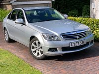 USED 2007 57 MERCEDES-BENZ C CLASS 1.8 C180 KOMPRESSOR SE 4d AUTO 155 BHP CRUISE 16