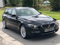 2013 BMW 3 SERIES 2.0 320D LUXURY TOURING 5d 181 BHP £7995.00