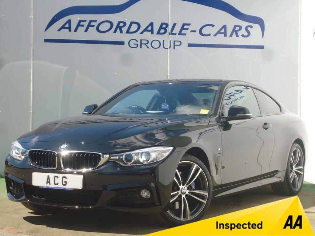 USED 2015 15 BMW 4 SERIES 2.0 420D XDRIVE M SPORT 2d 181 BHP