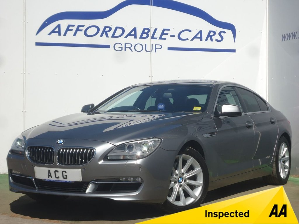 USED 2012 62 BMW 6 SERIES 3.0 640D SE GRAN COUPE 4d AUTO 309 BHP