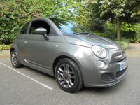 USED 2014 14 FIAT 500 1.2 S 3d 69 BHP SUPPLIED WITH 12 MONTHS WARRANTY