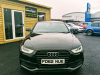 USED 2012 62 AUDI A4 2.0 TDI BLACK EDITION 4d 141 BHP ****Finance Available £58 PER WEEK****