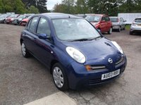 USED 2003 03 NISSAN MICRA 1.2 SE 5d AUTO 80 BHP Great Value Micra with Year Long MOT and Full Service History!