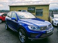 2016 VOLKSWAGEN TOUAREG 3.0 V6 R-LINE TDI BLUEMOTION TECHNOLOGY 5d AUTO 259 BHP £25750.00