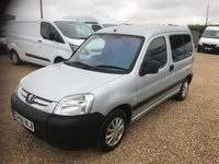 USED 2009 58 PEUGEOT PARTNER 1.4 COMBI ORIGIN 5d 74 BHP WHEEL CHAIR ACCESS MOBILITY WHEELCHAIR ACCESSIBLE VERY LOW MILES.
